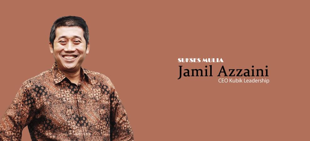 Jamil Azzaini, Motivator Sukses Mulai