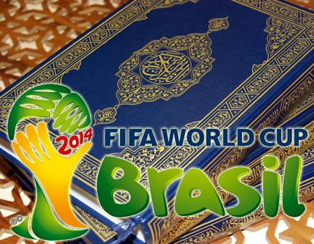 Al-Qur'an Gratis di Piala Dunia